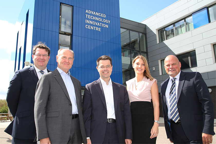 Navitas team at Advanced Technology Innovation Centre