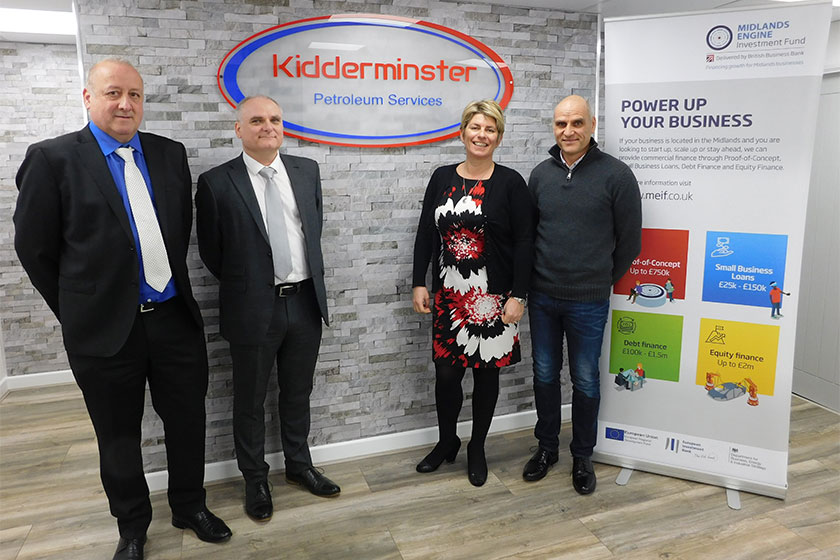 Kidderminster-Petroleum-Services team photo