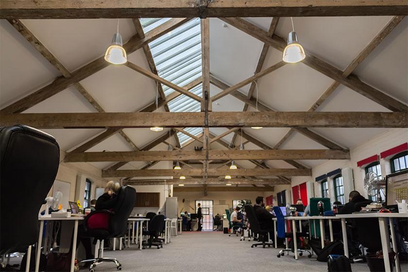interior view of business premises