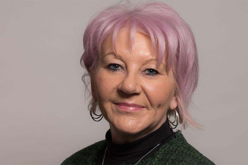 new CEO Elizabeth Gooch depicted